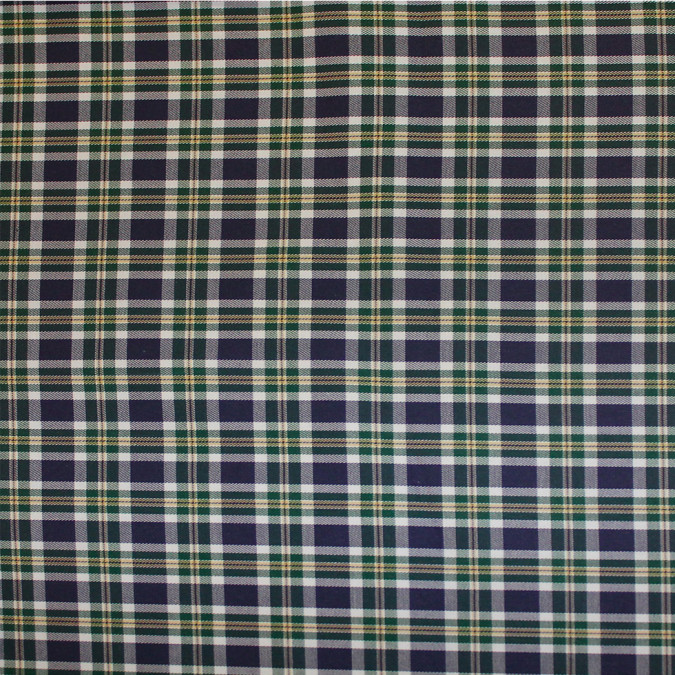 blue brown white tartan plaid cotton flannel 308632 11