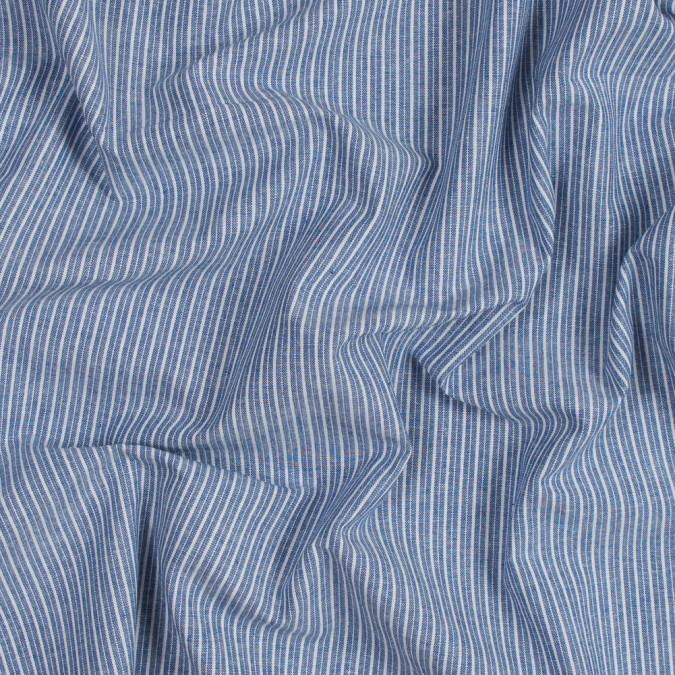 blue denim striped cotton chambray 316485 11