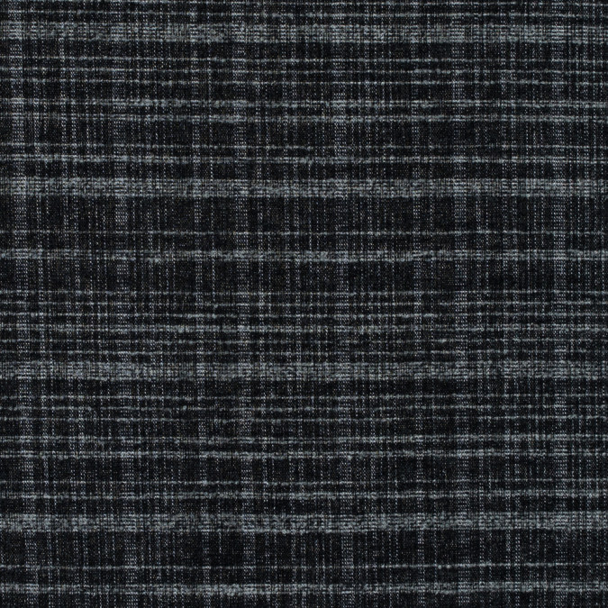blue graphite and ash gray plaid heavy wool coating 315298 11