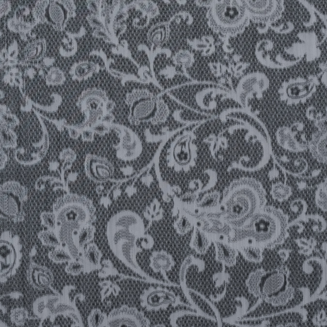 blue gray lacey printed taffeta 313431 11