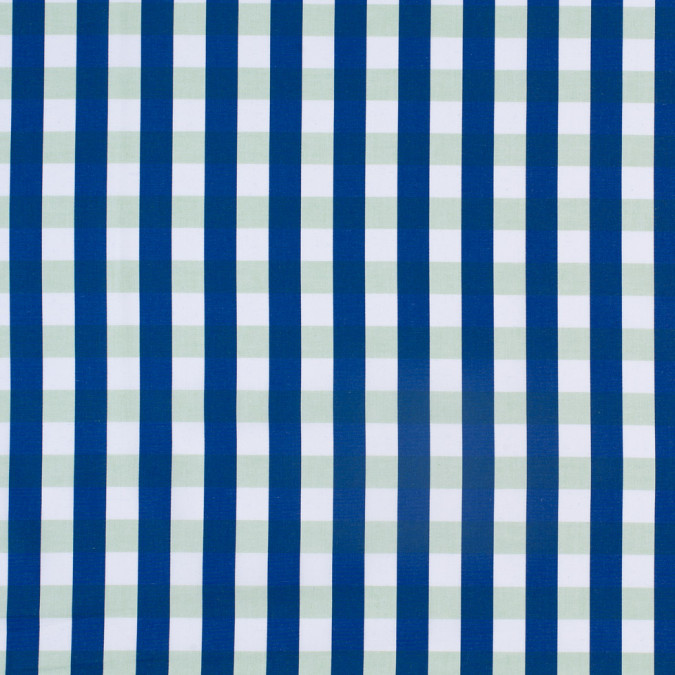 blue green jumbo checkered cotton shirting 303635 11