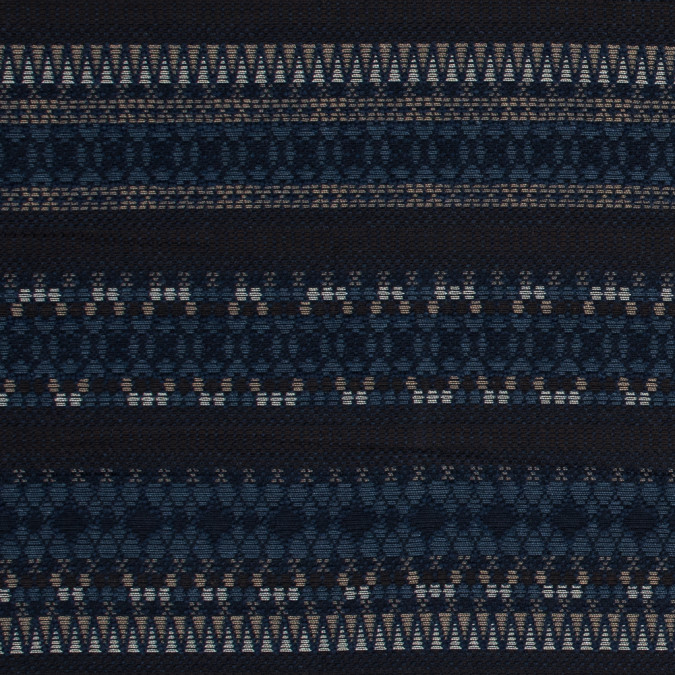 blue nights and brown tribal striped novelty woven 318444 11