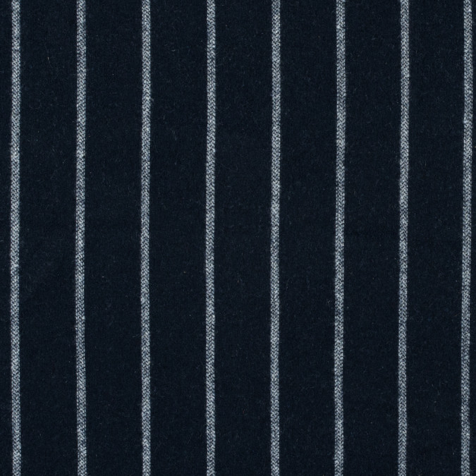 blue nights and white pencil striped brushed wool coating 315213 11