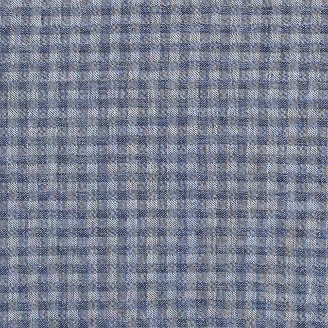 blue shepherd s check cotton woven 316847 11