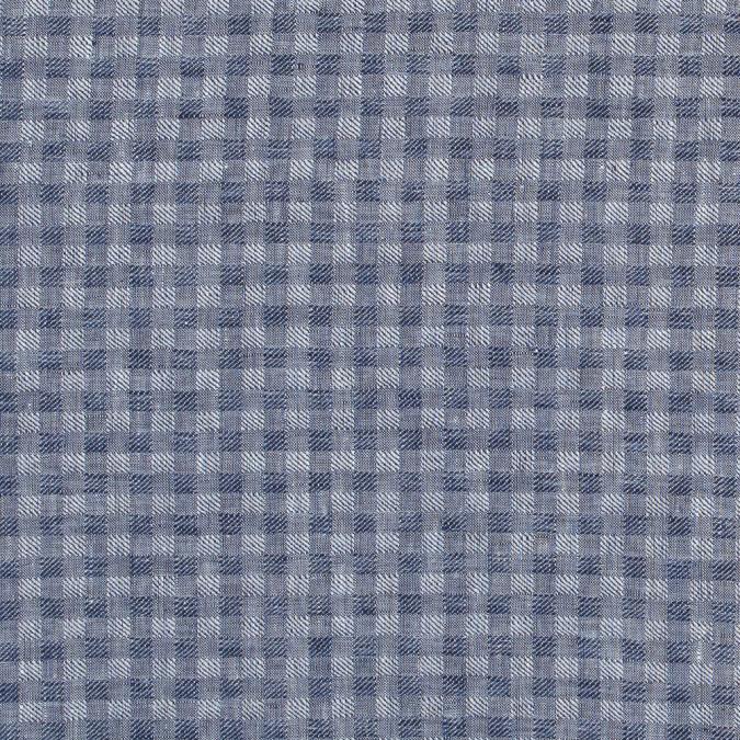 blue shepherd s check cotton woven 316847 11