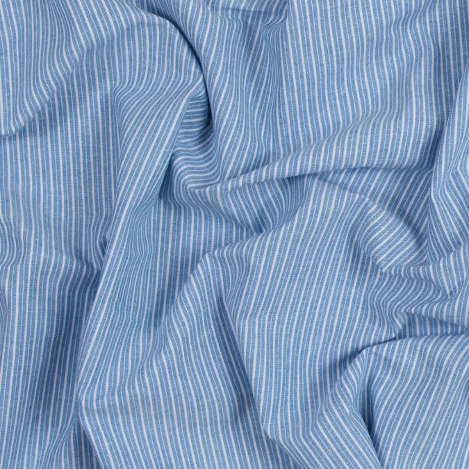 blue sky striped cotton chambray 316484 11