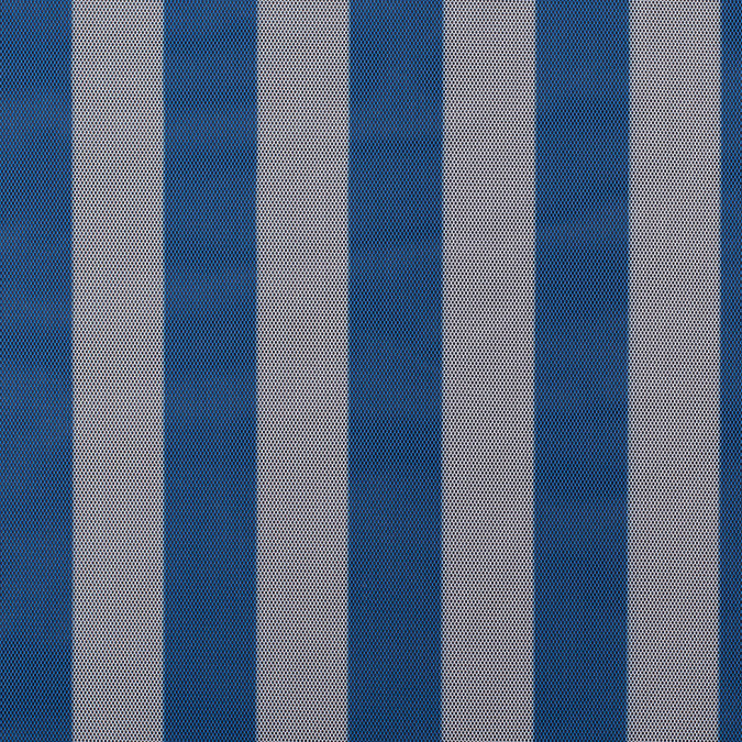 blue white awning striped polyester netting mesh 308928 11