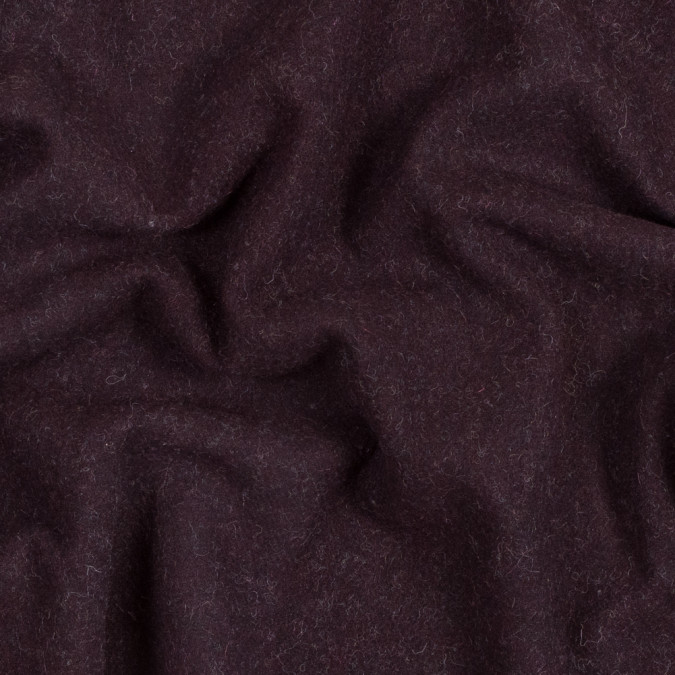bordeaux double faced wool coating 317226 11