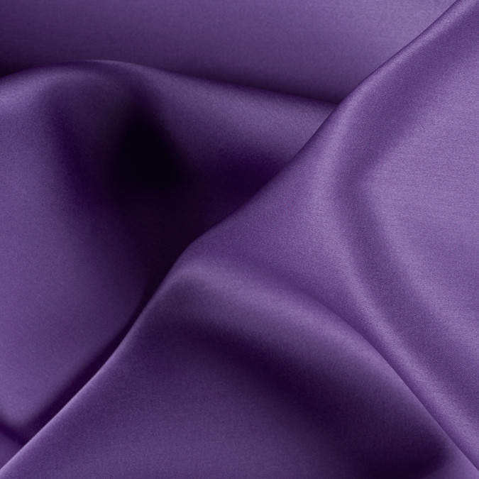 bright purple silk satin face organza pv4000 155 11