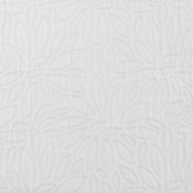 bright white floral embossed brocade 308132 11