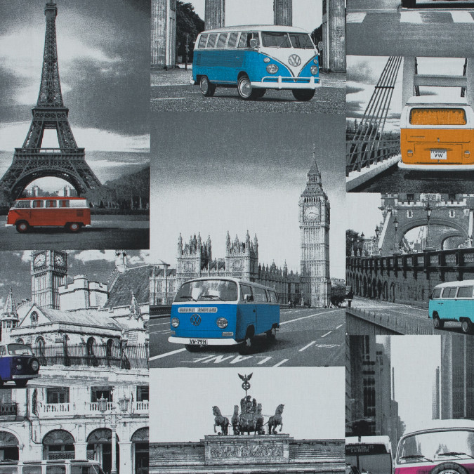 british multicolor volkswagon journey printed cotton canvas awg560 11