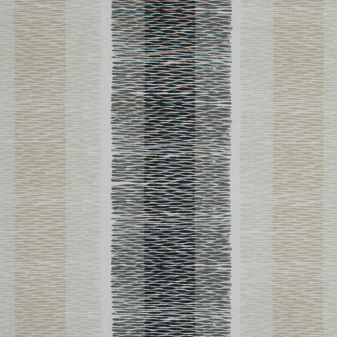 british natural geometric striped printed cotton canvas awg578 11