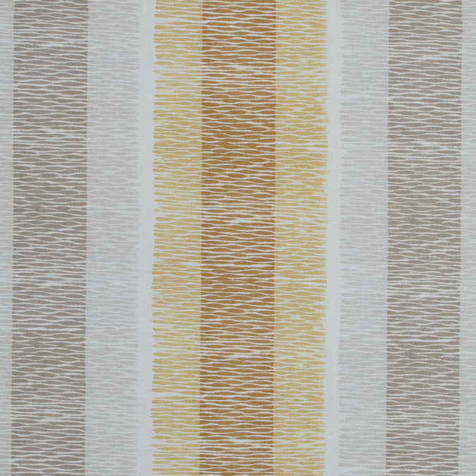 british ochre geometric striped printed cotton canvas awg575 11