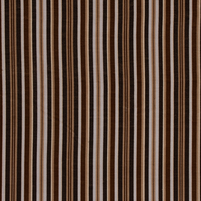 brown and beige barcode striped cotton corduroy 319319 11