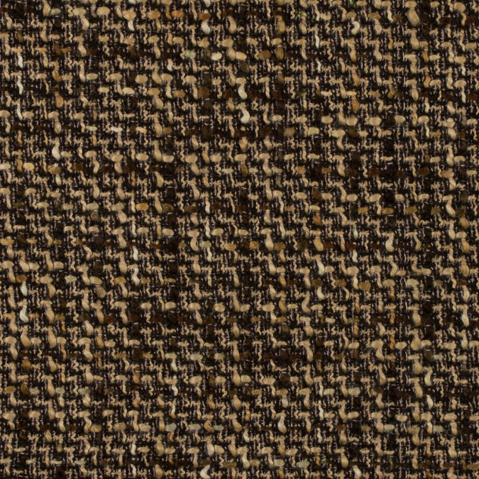brown and beige blended wool tweed 315173 11