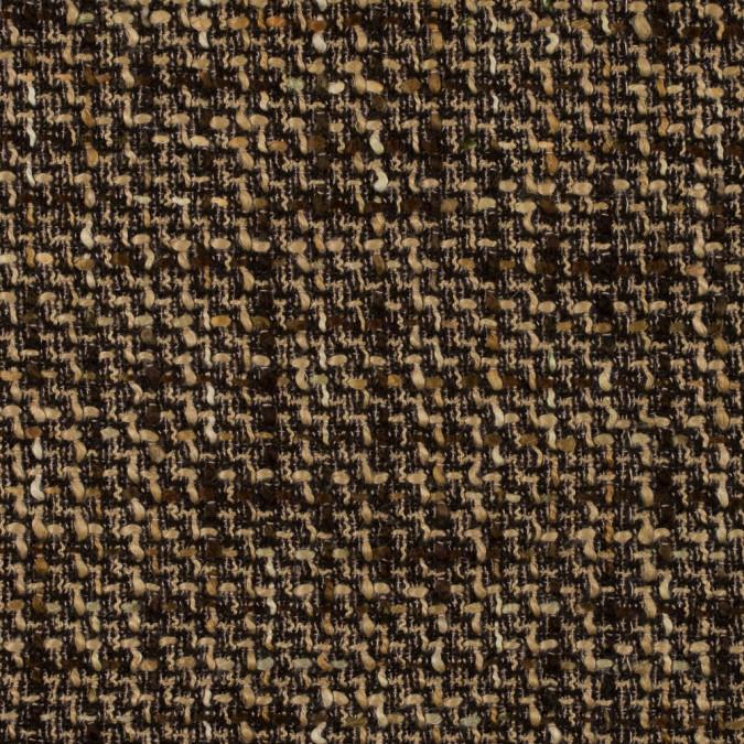 brown and beige blended wool tweed 315173 11