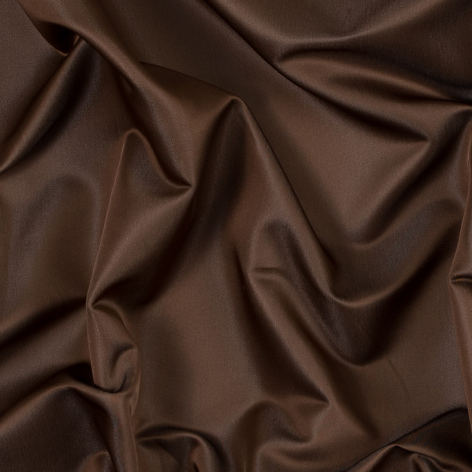 brown and beige reversible satin faced polyester twill 313664 11