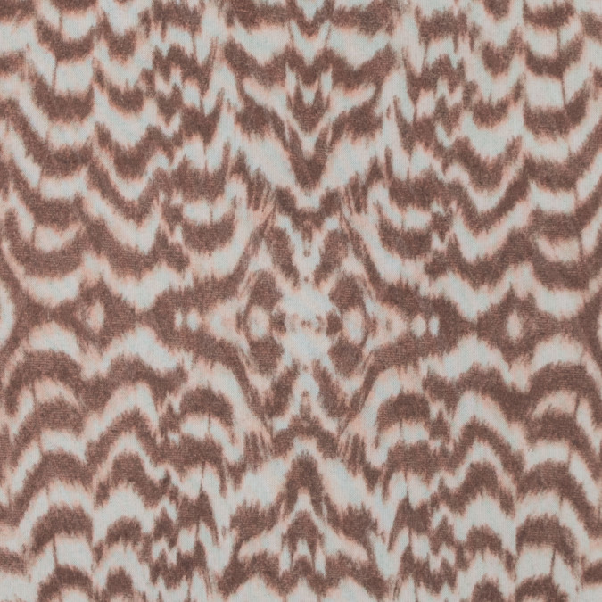 brown and ivory abstract mesh 316800 11