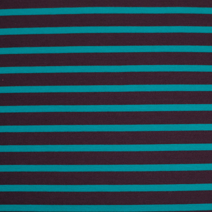 brown and jade striped polyester blended ponte de roma 107998 11
