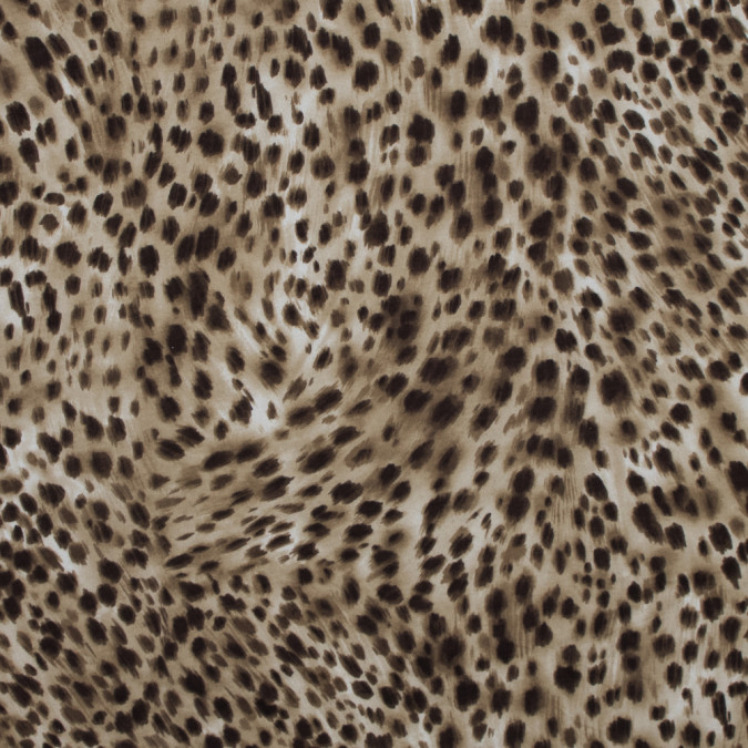 brown cheetah rayon jersey 317416 11