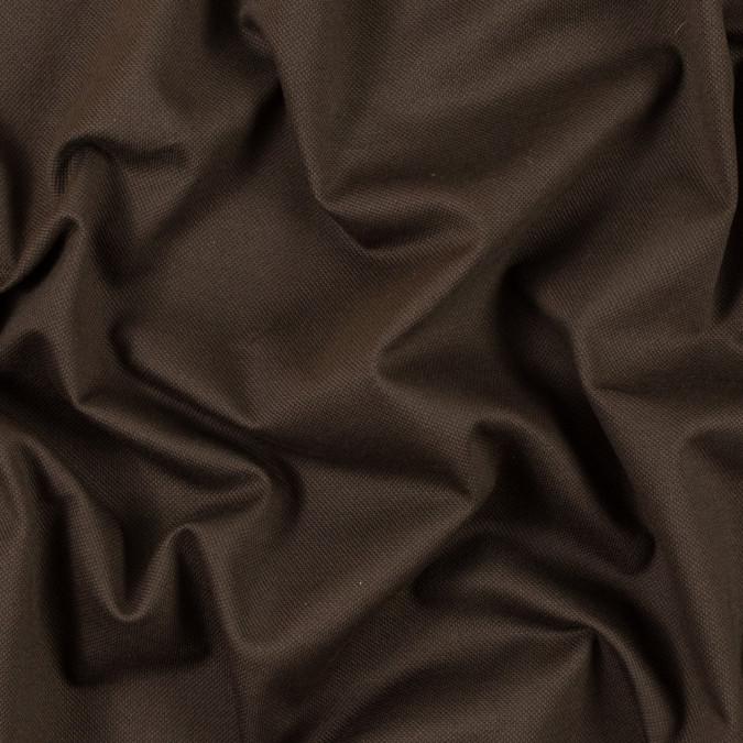 brown cotton knit pique 315880 11