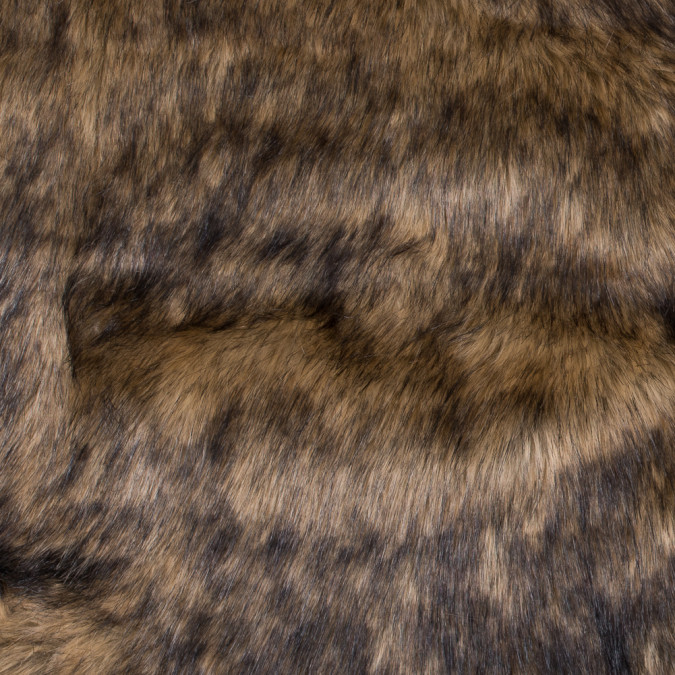 brown faux coyote fur 312824 11