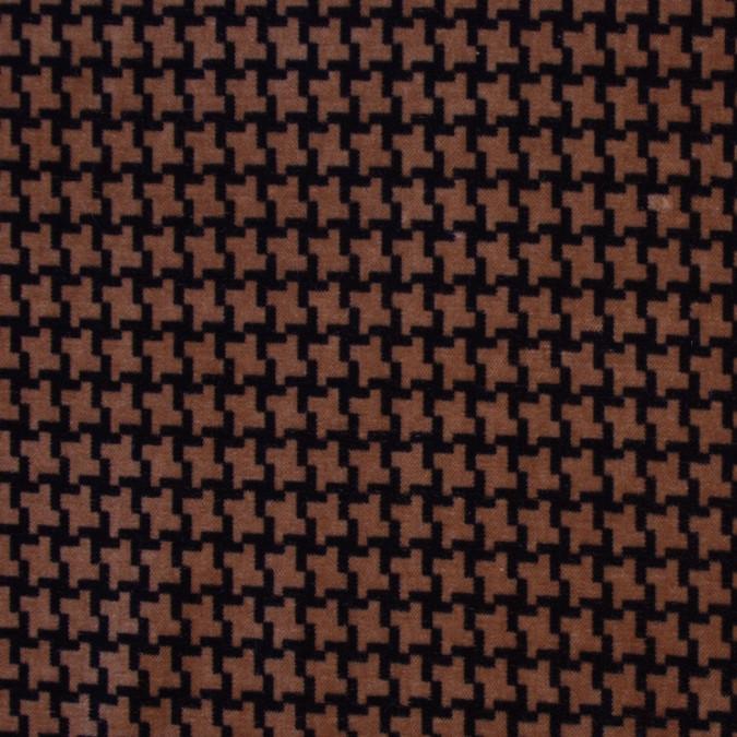 brown houndstooth natty cotton 300719 11