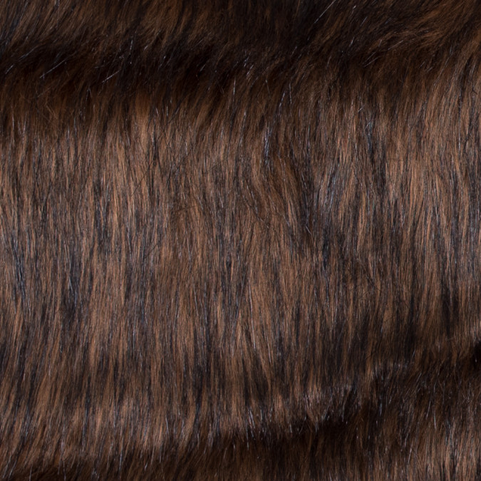 brown long haired faux fur 116568 11