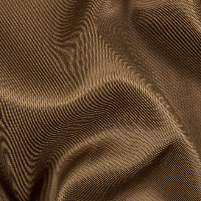 brown luminous cotton rayon twill suiting 310708 11