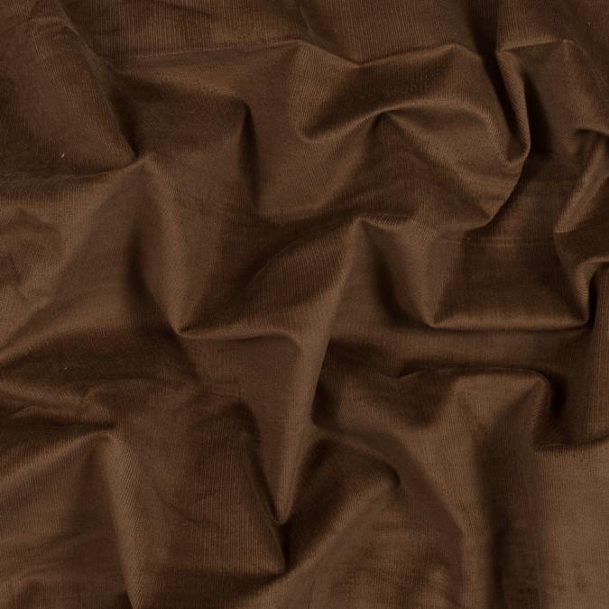 brown stretch cotton corduroy 319602 11