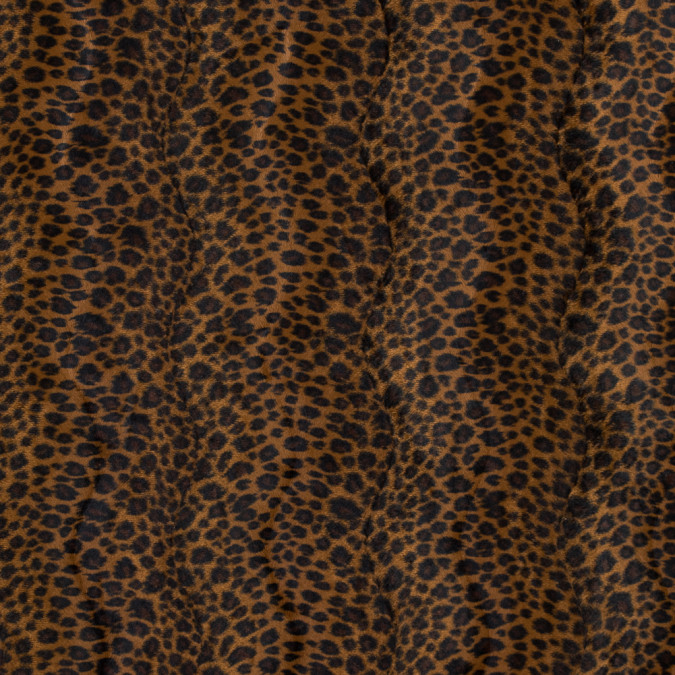 brown sugar and black leopard printed faux fur 313749 11