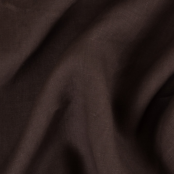brown woven linen suiting 114295 11