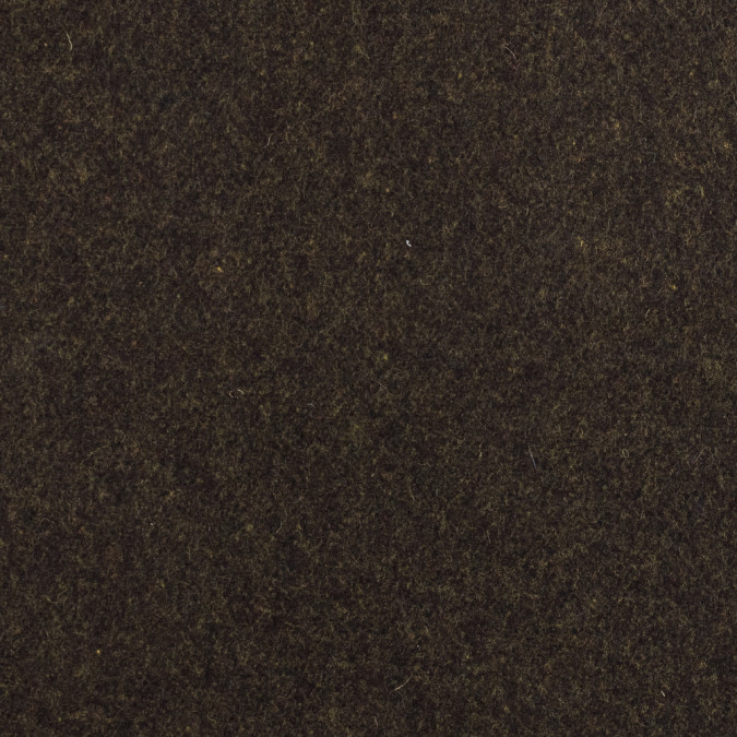 burgandy and yellow felted wool coating 317238 11