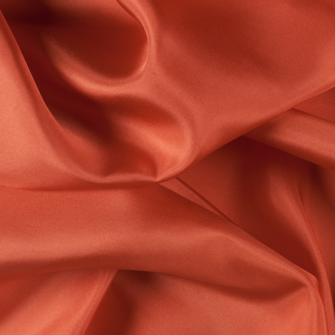 burnt orange china silk habotai pv2000 166 11