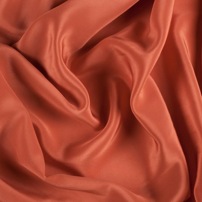 burnt orange silk crepe de chine pv1200 166 11