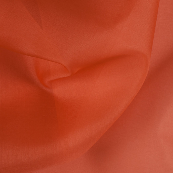 burnt orange silk organza pv3000 166 11