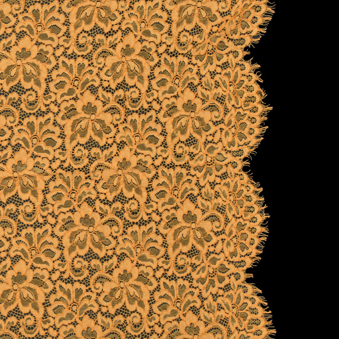 butterscotch floral re embroidered lace panel 316070 11