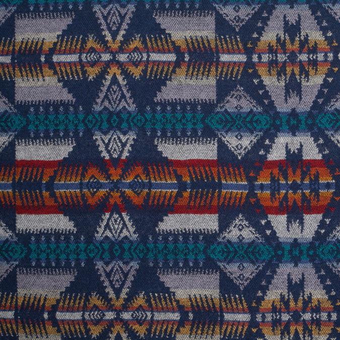 cadet dark navy aztec virgin wool woven 307475 11
