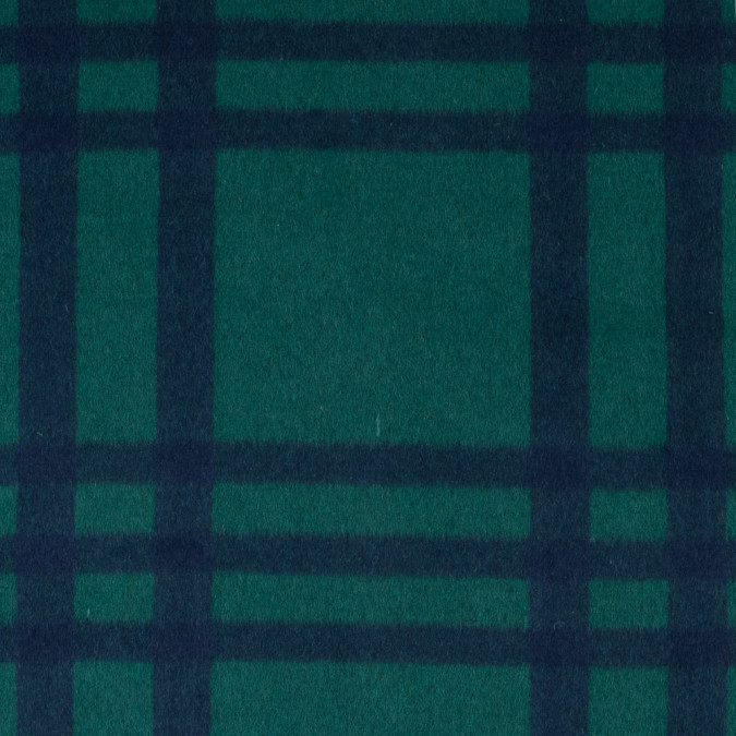 cadmium green and patriot blue large scale plaid brushed wool coating 313453 11