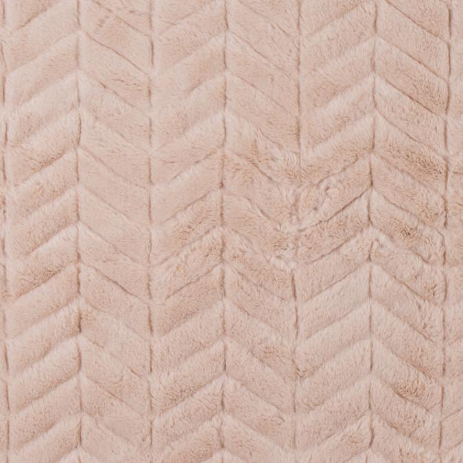 camel herringbone grooved faux fur 312840 11