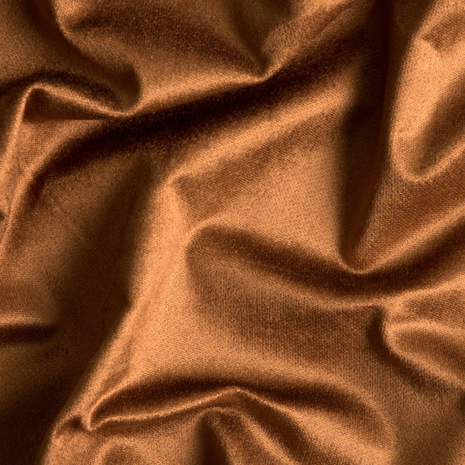 caramel stretch rayon velveteen 309356 11