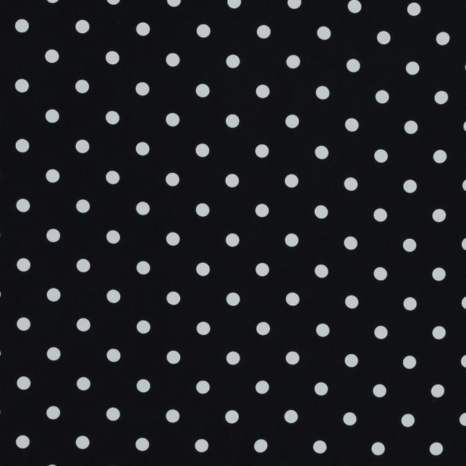 carolina herrera black and white polka dotted stretch silk crepe de chine 319517 11