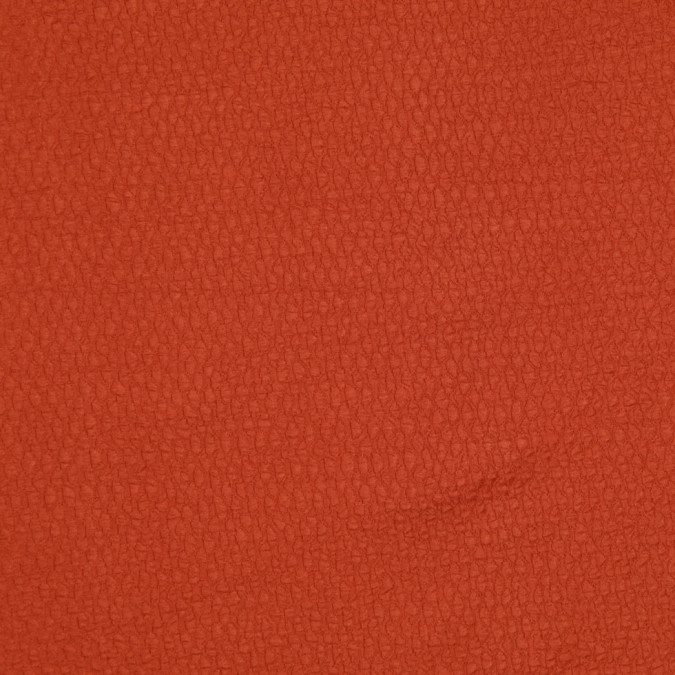 carolina herrera burnt orange silk wool woven fw11192 11