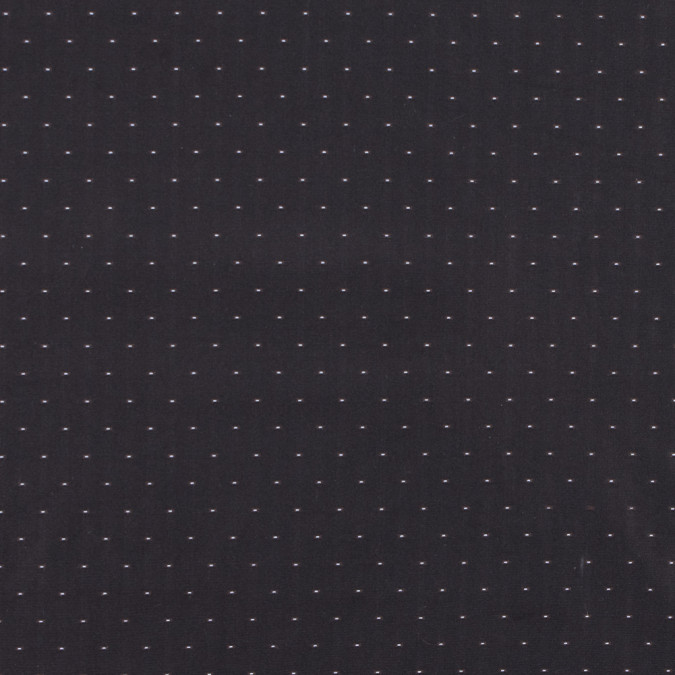 carolina herrera dark brown and robin s egg polka dotted polyester taffeta fp19609 11