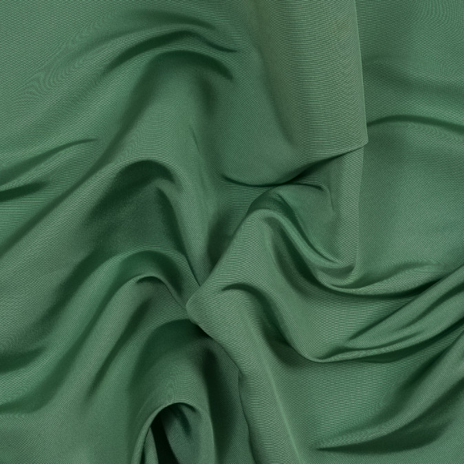 carolina herrera stone green silk faille 319503 11