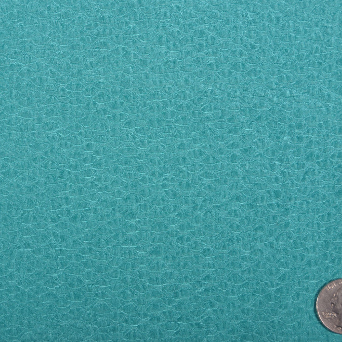 carolina herrera turquoise silk wool woven fw11191 11