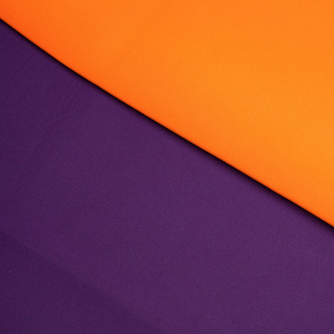 carrot imperial purple double faced neoprene scuba fabric 305959 11