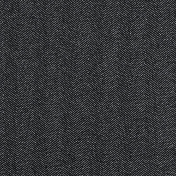 cavalli black and gray herringbone wool coating 315107 11