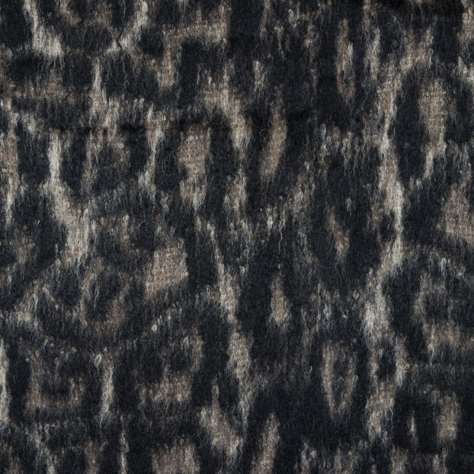 cavalli black and oyster white animalistic alpaca coating 314935 11