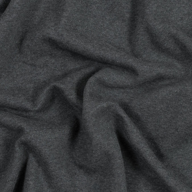 charcoal cotton and polyester brushed fleece 316152 11
